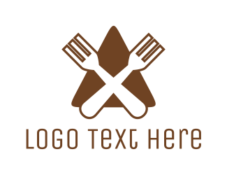 """""""Triangle Fork Eat Restaurant"""" by arishu"""
