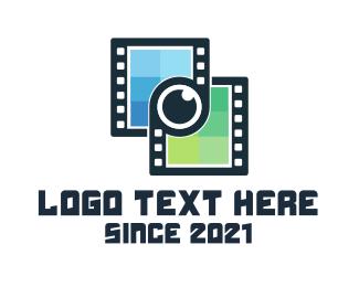 Link - Film Link logo design