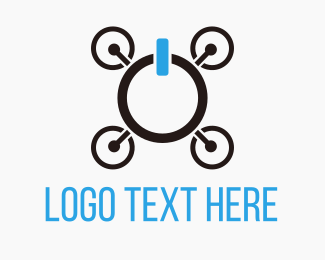Screen - Drone On logo design