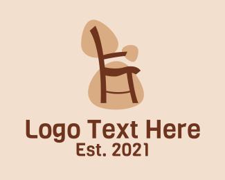 Furniture - Armchair Furniture logo design