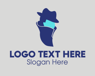 Detective - Green Agent logo design