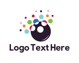 Exciting - Colorful Bubbles logo design