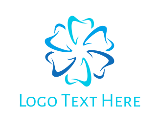 Dental Flower Logo