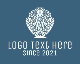 Shell - White Coral Shell logo design
