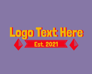 Word - Playful Preschooler Wordmark logo design