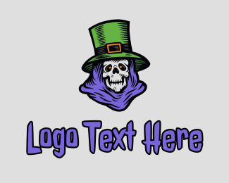 Halloween St. Patrick  Logo