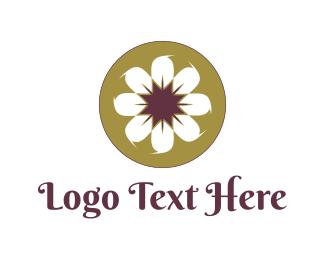 Daisy - White Daisy logo design