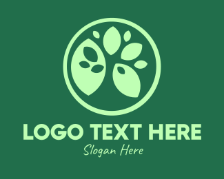 Resources - Green Ecology Leaves logo design