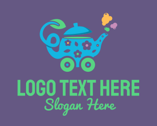 Wheel - Teapot Wheels logo design