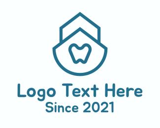 Clinic - Simple Dental Clinic logo design