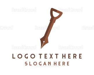 Bookshop - Knowledge Digger logo design