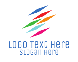 It Company - Colorful Pixels logo design