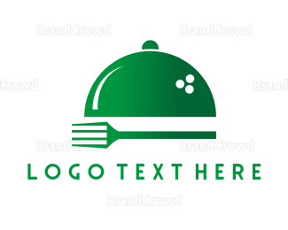 Tray - Fork & Tray logo design