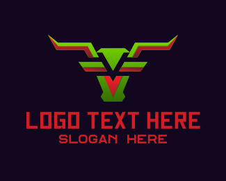 Cyber - Cyber Buffalo logo design