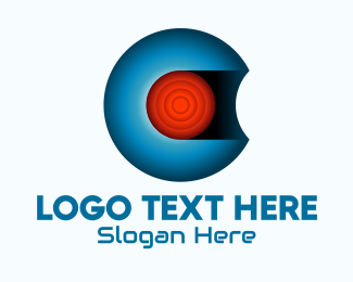 Cyber - Cyber Sphere Core Letter C logo design