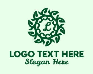 """Eco Wreath Lettermark"" by SimplePixelSL"
