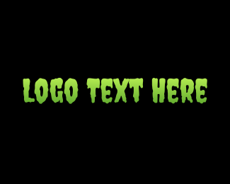 """""""Scary Slime Text """" by brandcrowd"""
