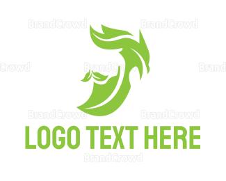 Man - Leaf Man Grooming logo design