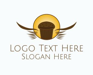 Gastronomy - Chocolate Muffin Bakery logo design