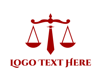 Attorney And Legal Corporate Law logo design