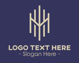 Professional Letter M Logo Maker