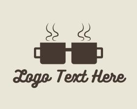Coffee Cup Geek Logo