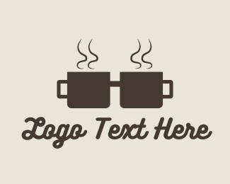 Geek - Coffee Cup Geek logo design