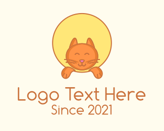 Pet Accessories - Pet Cat Kitten logo design