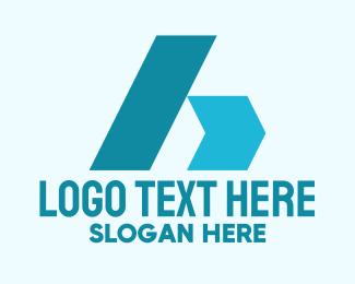 Coporate - Industrial Business Letter A logo design