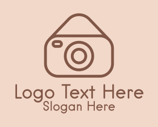 Photo Booth - Classic Photo Camera logo design