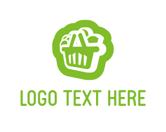 Commerce - Citrus Shopping Cart logo design