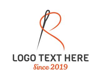 Alteration - Elegant R Tailor logo design