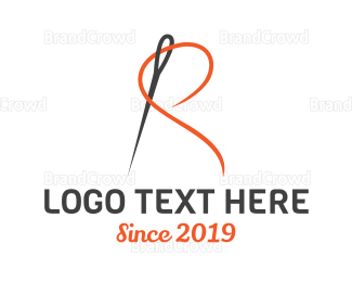 Alteration - Elegant R Tailor logo design