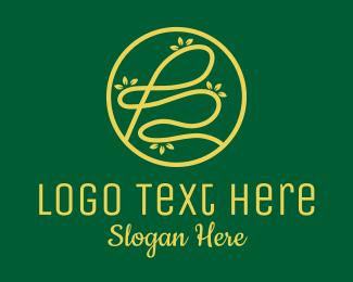 Landscape Gardening - Leafy Letter B  logo design