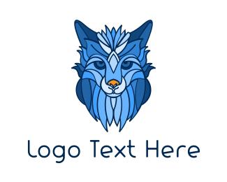 Mythological - Mythological  Wolf logo design