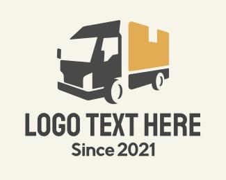 Parcel - Parcel Truck Logistics logo design
