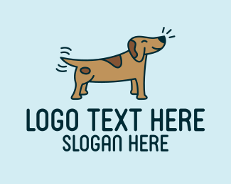 Dog Shelter - Happy Dog logo design