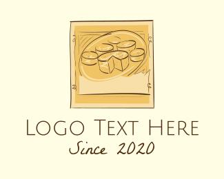 Platter - Vintage Cheese Platter  logo design