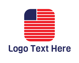 Usa - USA App logo design