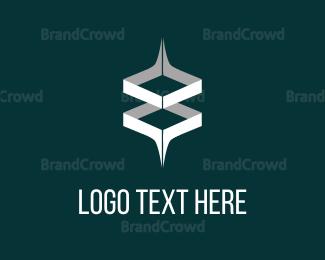 Eight - 8 Cube logo design