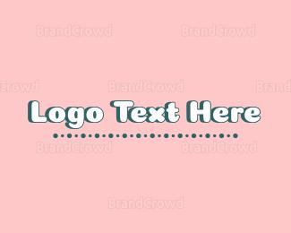 Text - Girl Text logo design