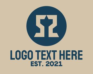 Five - Double Letter S logo design