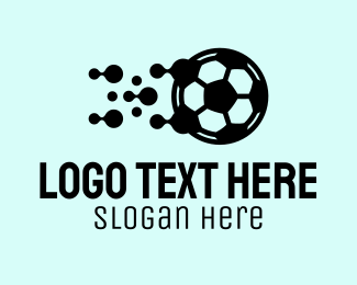 Blob - Soccer Sports Equipment logo design