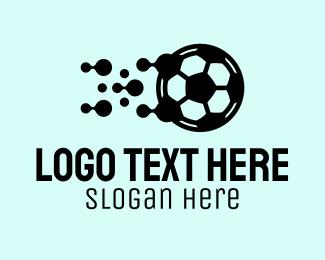Soccer Sports Equipment Logo