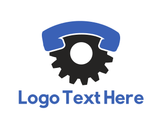 Customer Service - Industrial Call logo design