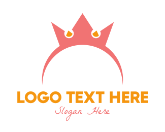 Accessory - Crown Hairband logo design
