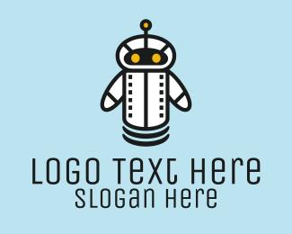 Research - Robot Droid Bot logo design