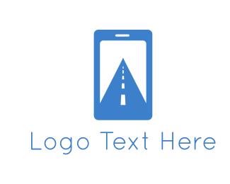 Telephone - Digital Path logo design