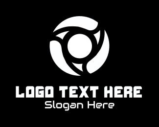 Lens - Yellow Lens logo design