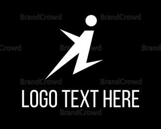 Move - Kick Jump logo design